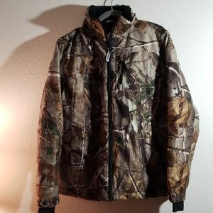 Women's realtree lg coat, gloves and hat